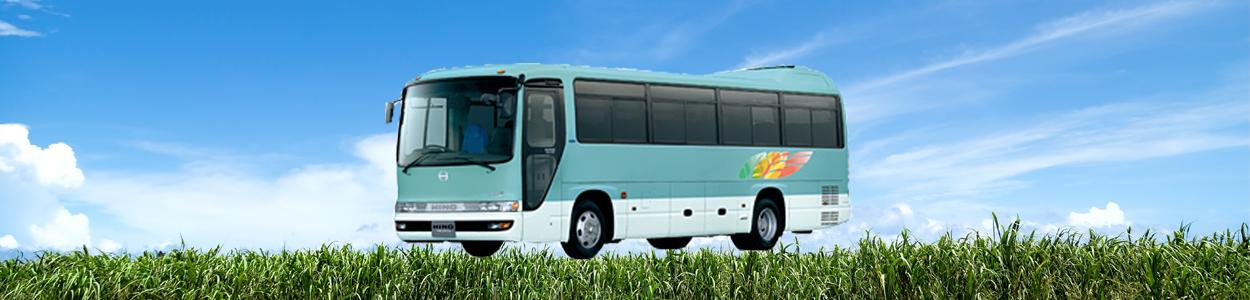 中型バス 京都からの貸切料金や定員バスの長さを